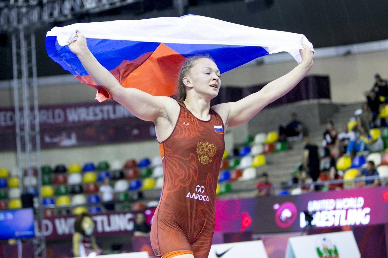 Russia win women's team title at European Under-23 Wrestling Championships