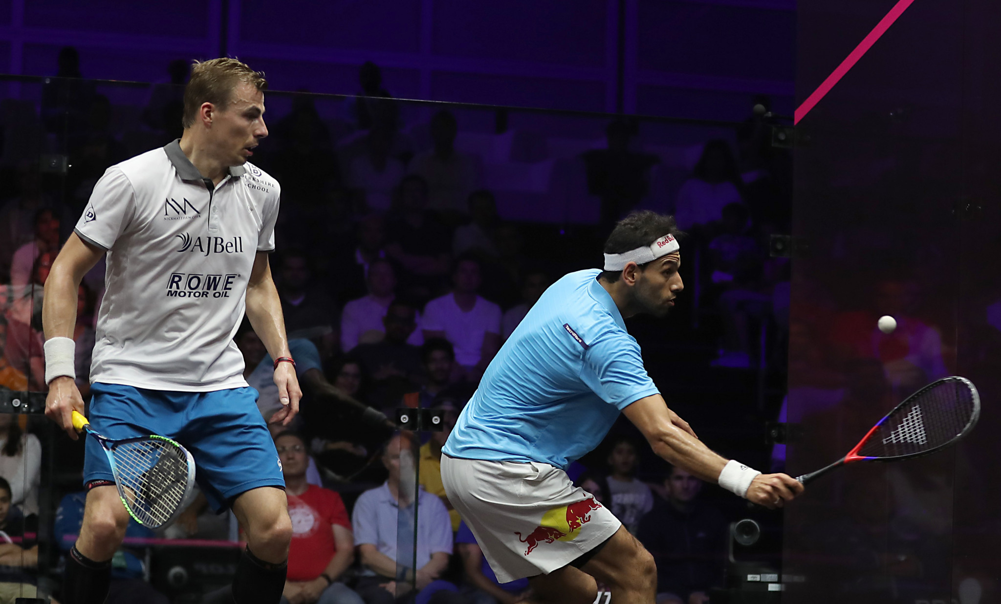 Matthew's 20-year squash career ends with defeat at PSA World Series in Dubai - and a standing ovation