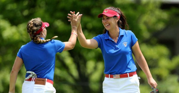 Gillman excels as Team USA take first day Curtis Cup lead on home ground