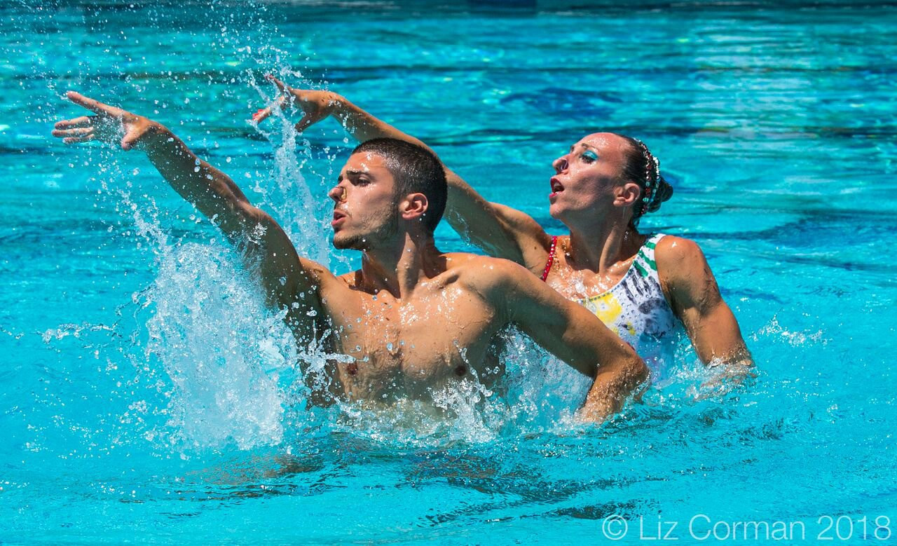 Ukraine and Italy golden on day two of FINA Artistic Swimming World Series in Los Angeles