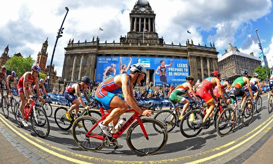 Leeds is hosting World Triathlon Series action tomorrow ©ITU
