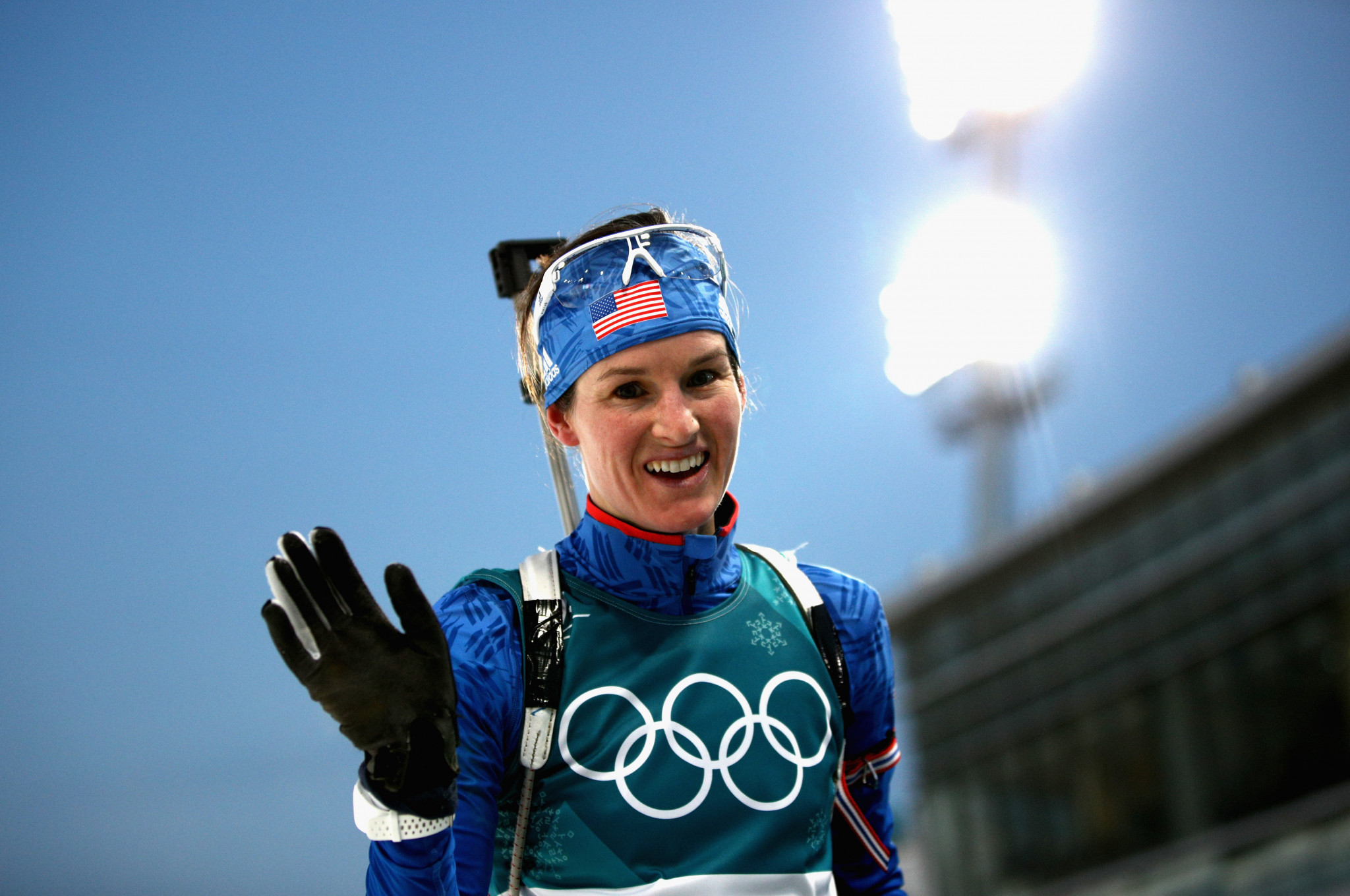 The 30-year-old American criticised the IOC for their stance on RUSADA's compliance ©Getty Images