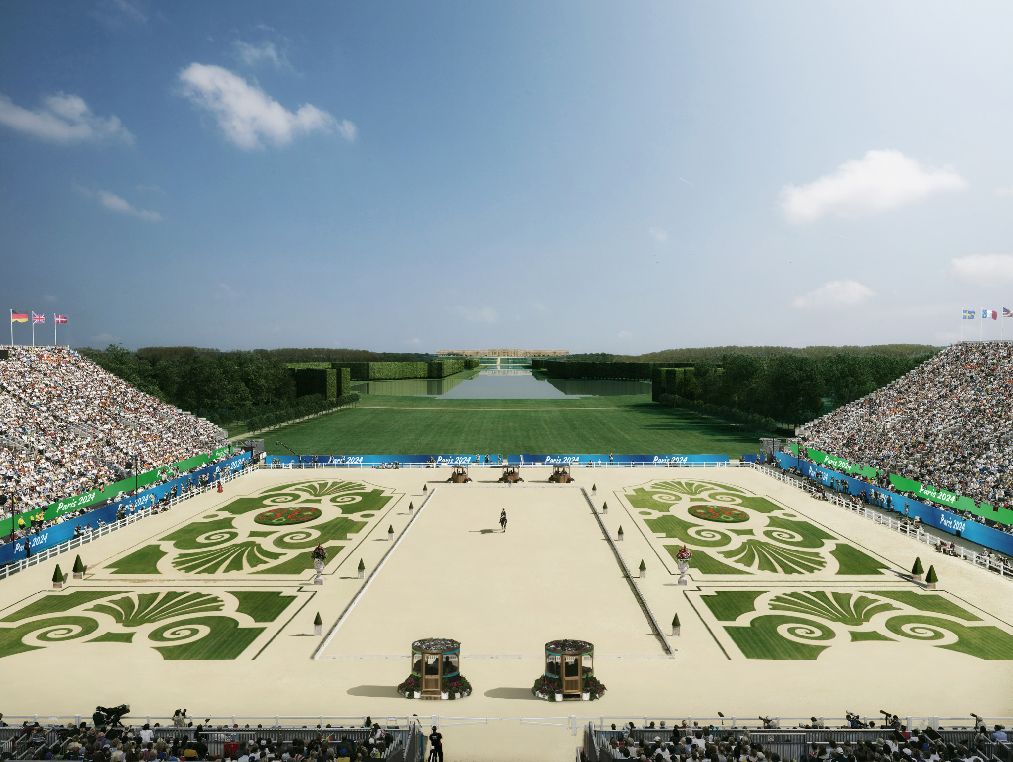 Equestrian will remain in Versailles after Paris 2024 confirmed the venue for the sport ©Paris 2024