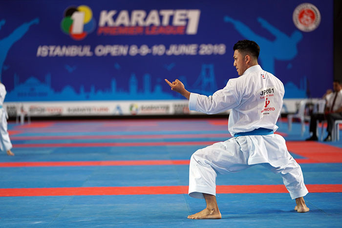 Moto stuns Quintero to set up all-Japanese clash with world champion at Karate 1-Premier League in Istanbul