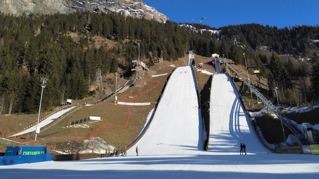Residents of Kandersteg voted in favour of plans to host events there if the Sion 2026 bid goes ahead ©FIS
