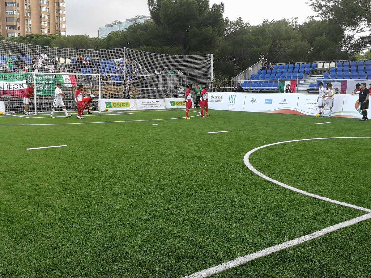 Debutants Mexico hold Russia to draw at IBSA Blind Football World Championships