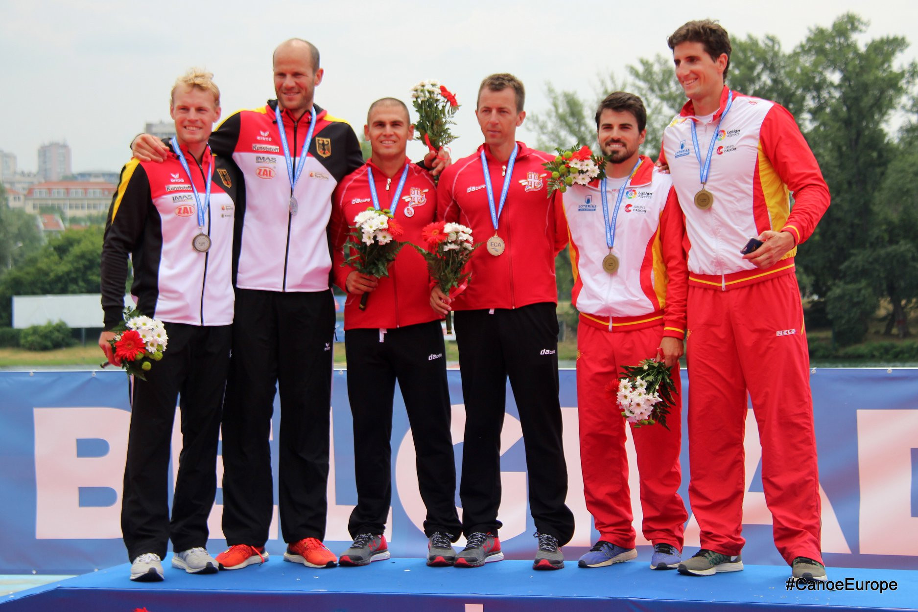 Home success for Serbia at European Canoe Sprint Championships