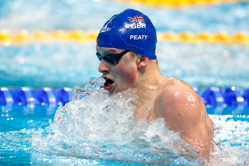 Adam Peaty broke the 100m breastsroke world record in London