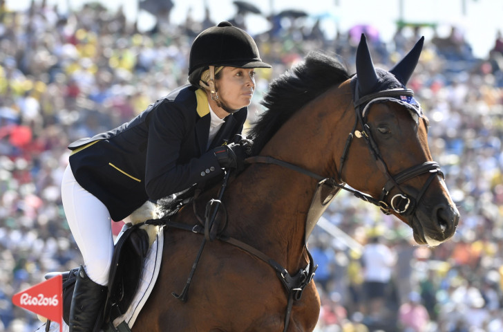Australia's Edwina Tops-Alexander failed to extend her overall lead in the Longines Global Champions Tour after finishing 19th in tonight's Grand Prix event in Cannes ©Getty Images