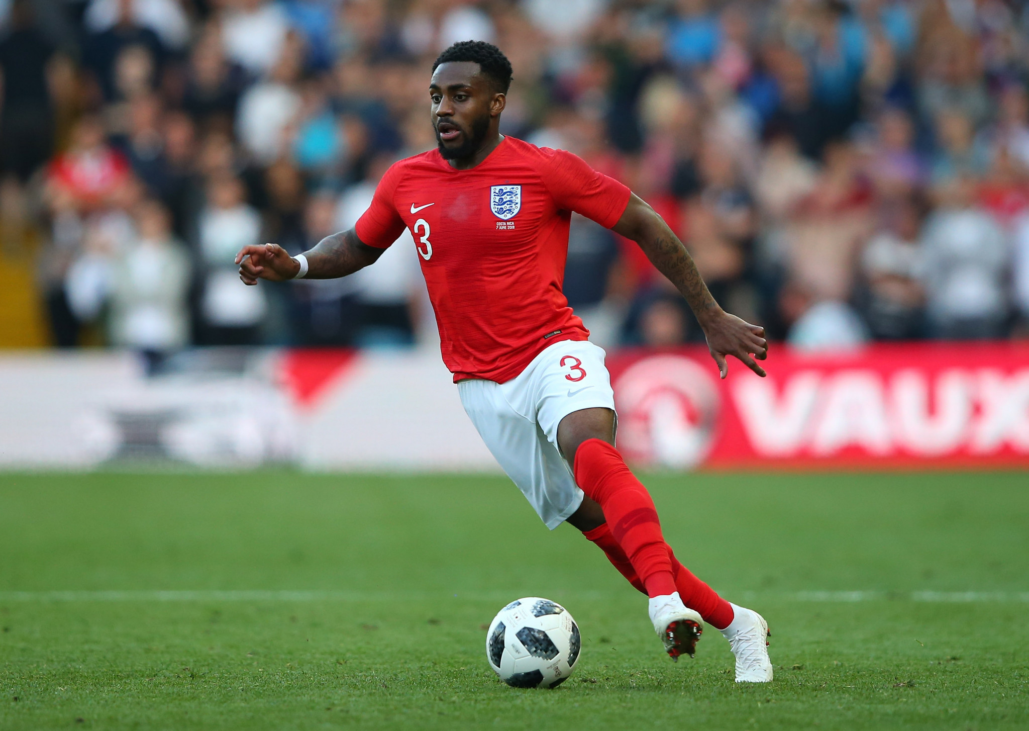 Danny Rose spoke about depression, racism and treatment of a knee injury sustained last year ©Getty Images