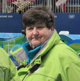 The world curling community is mourning the death of Donna Statzell ©WCF