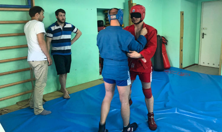International Sambo Federation welcome new facility for blind athletes in Moscow