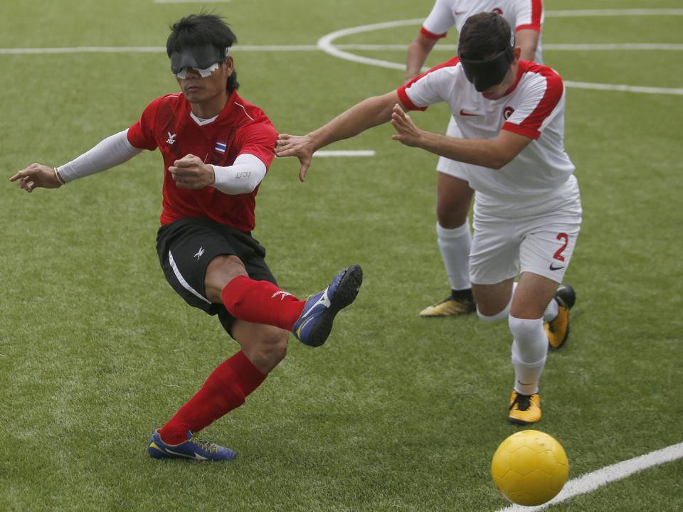Thailand brushed aside Turkey 3-0 ©IBSA