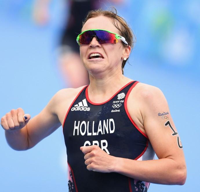 Rio 2016 triathlon bronze medallist won the World Triathlon Series leg at Leeds today ©Getty Images