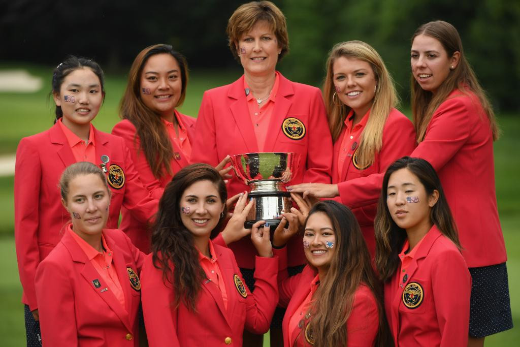 United States sweep singles to win Curtis Cup by record margin