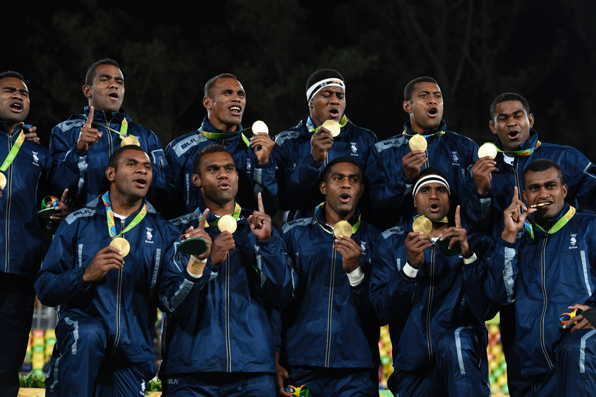 Fiji's rugby sevens team earned the country's first Olympic gold at Rio 2016 ©Getty Images
