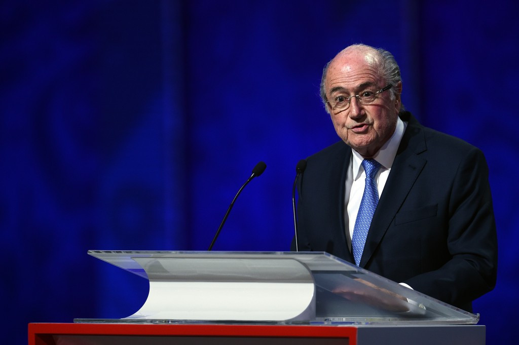 Loretta Lynch made no comment on outgoing FIFA President Sepp Blatter
