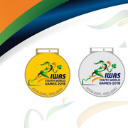 Medals design for 2018 IWAS Youth World Games revealed with month to go