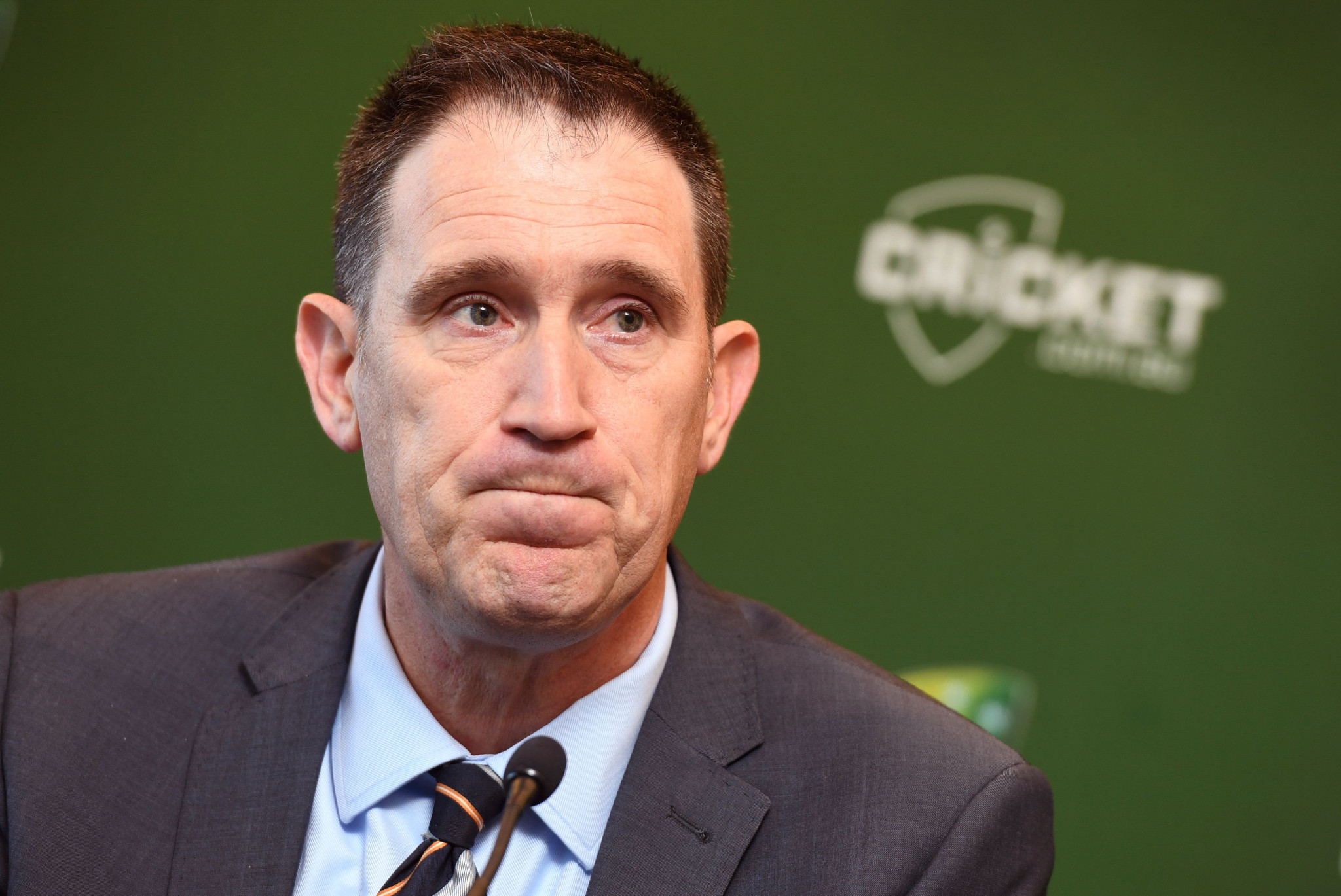 James Sutherland has announced his resignation as Cricket Australia chief executive ©Getty Images