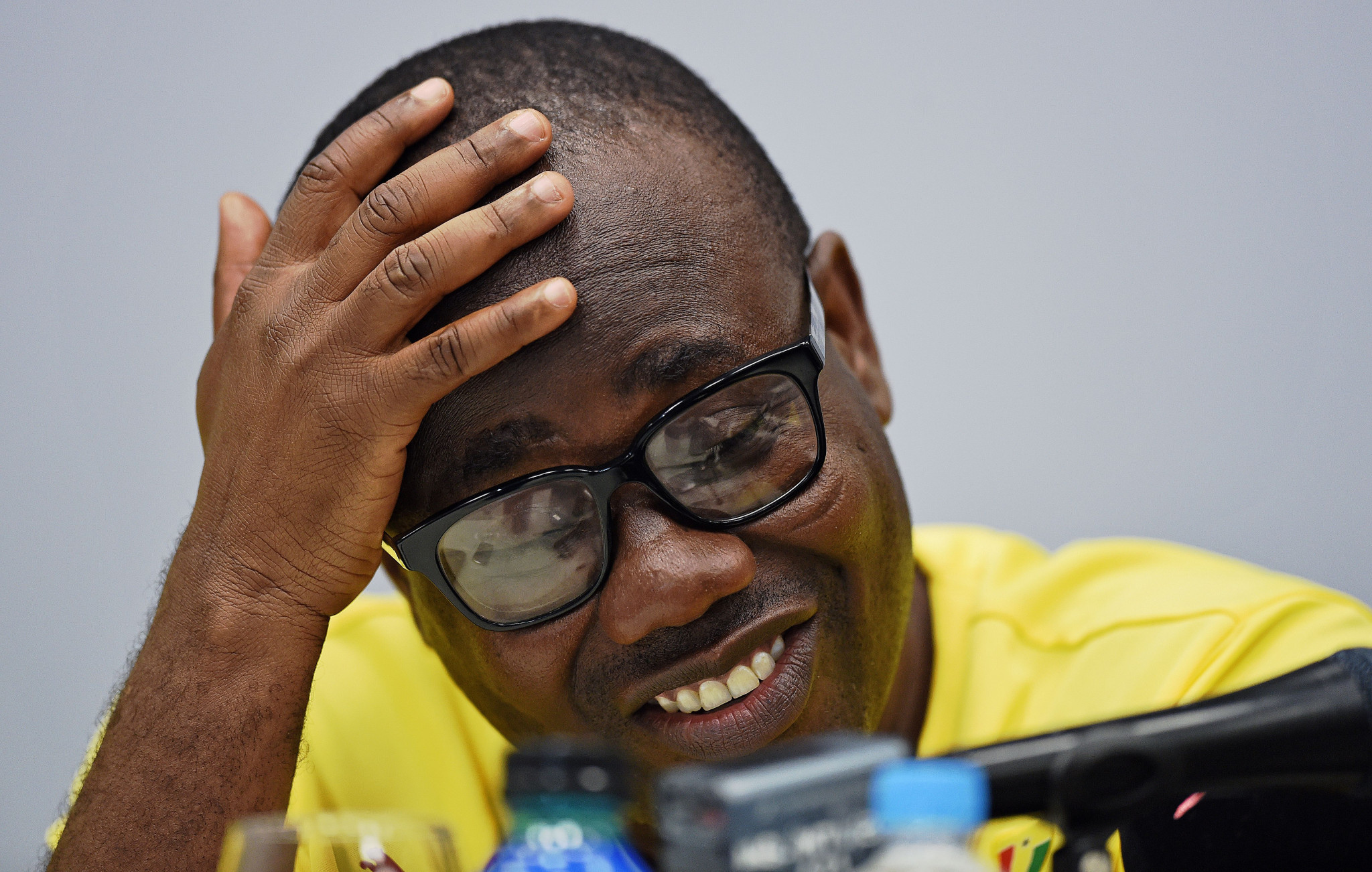 Ghana's Kwesi Nyantakyi has left all Confederation of African Football posts following allegations of bribery ©Getty Images