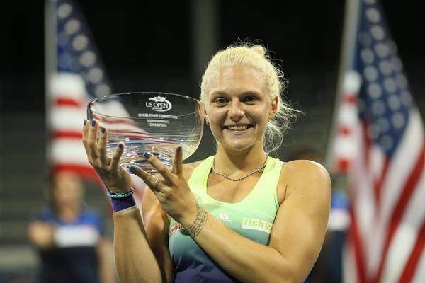 Jordanne Whiley earned her maiden Grand Slam singles title ©Twitter