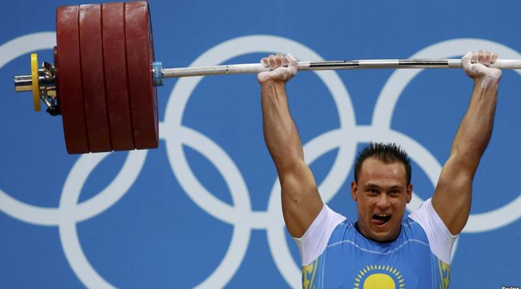 Kazakhstan's Ilya Ilyin is targeting Tokyo 2020 after his doping ban ended ©Getty Images
