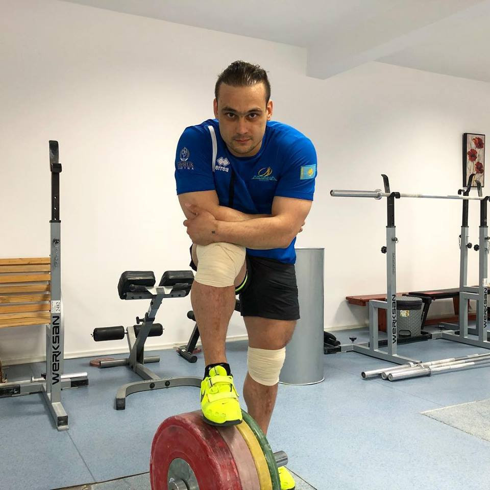 Ilya Ilyin, stripped of two Olympic gold medals because of doping, has been struggling to replicate his best form in training but is still confident of competing at Tokyo 2020 ©Facebook