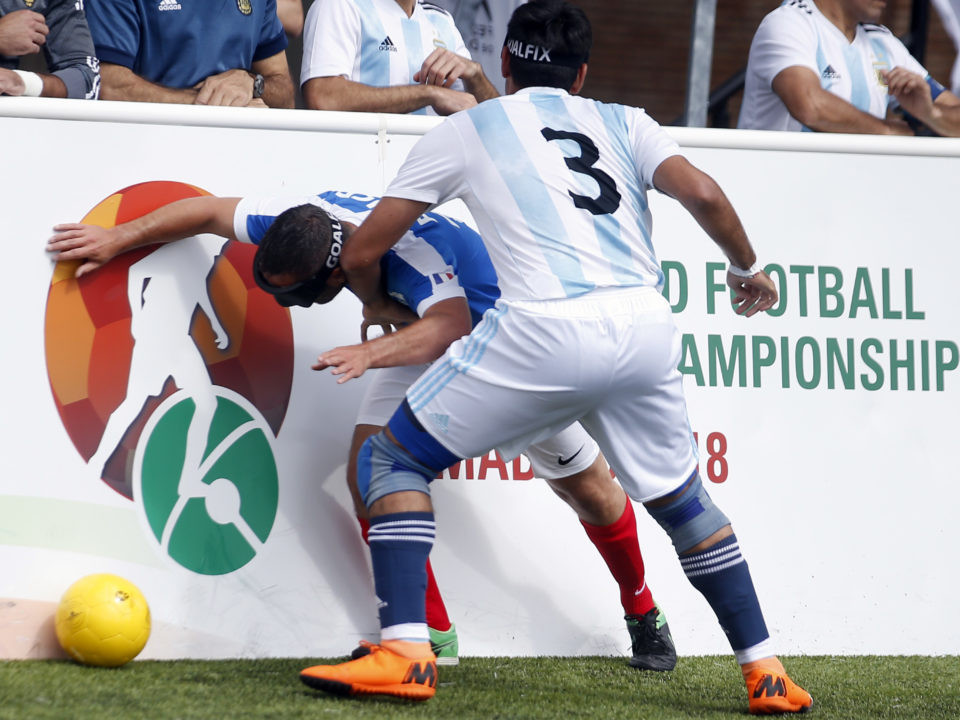 Argentina and Spain qualify as Brazil top group at IBSA Blind Football World Championships