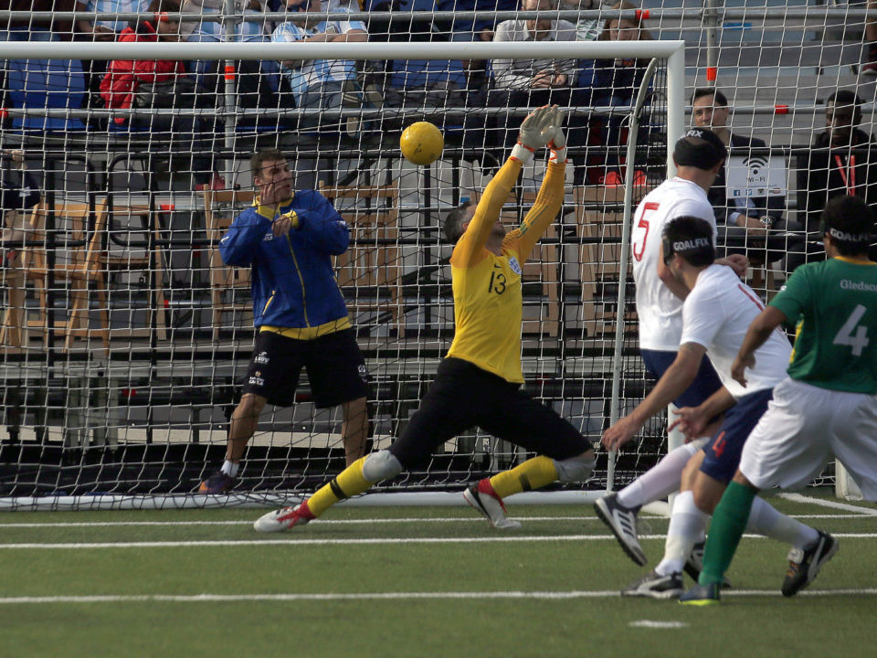 Brazil beat England 3-0 to top Group D at the IBSA Blind Football World Championships ©IBSA