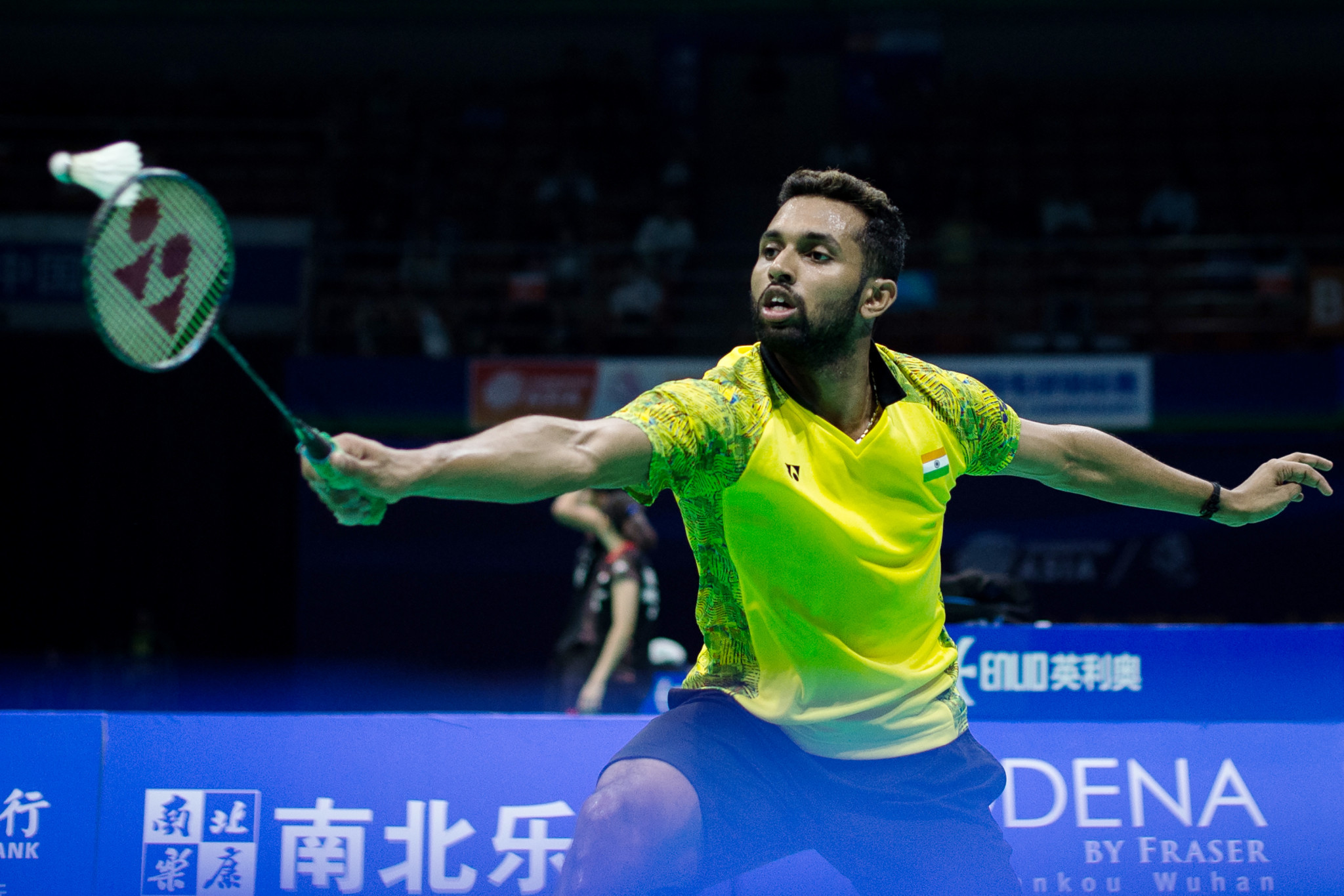 Prannoy Kumar will not defend his US Open Badminton Championships title after he decided to skip the event ©Getty Images