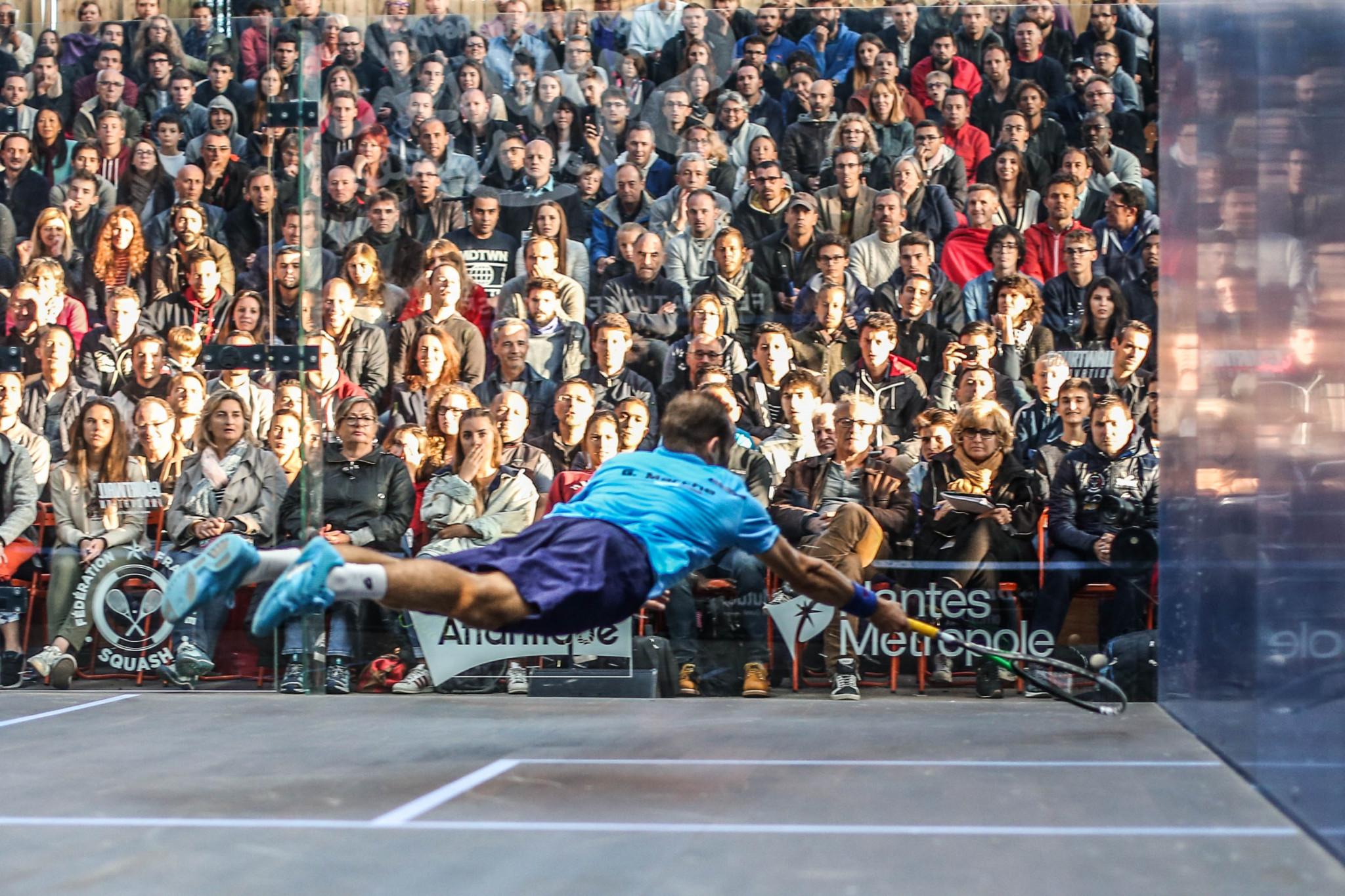 Tickets placed on sale for Open International de Squash de Nantes