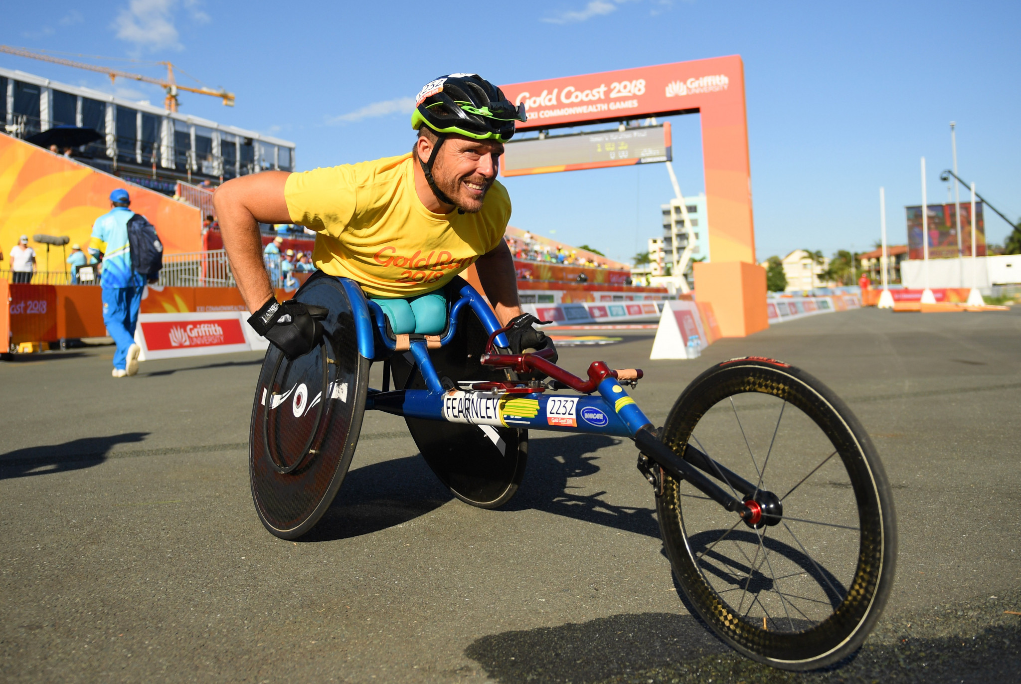 Three-time Paralmypic champion Kurt Fearnley was among the Australian sport stars recognised ©Getty Images