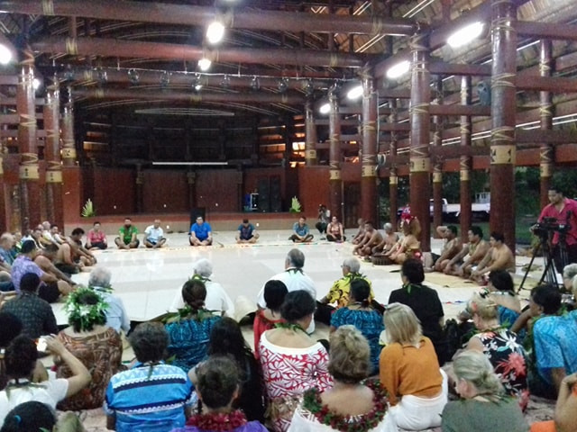 Samoa hold traditional welcome ceremony to open ONOC meetings