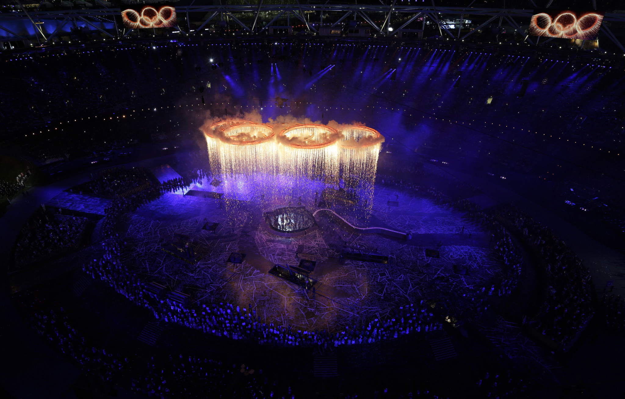 Xerox will provide 170 printers and scanners at Glasgow 2018, having previously done so at the London 2012 Olympics ©Getty Images