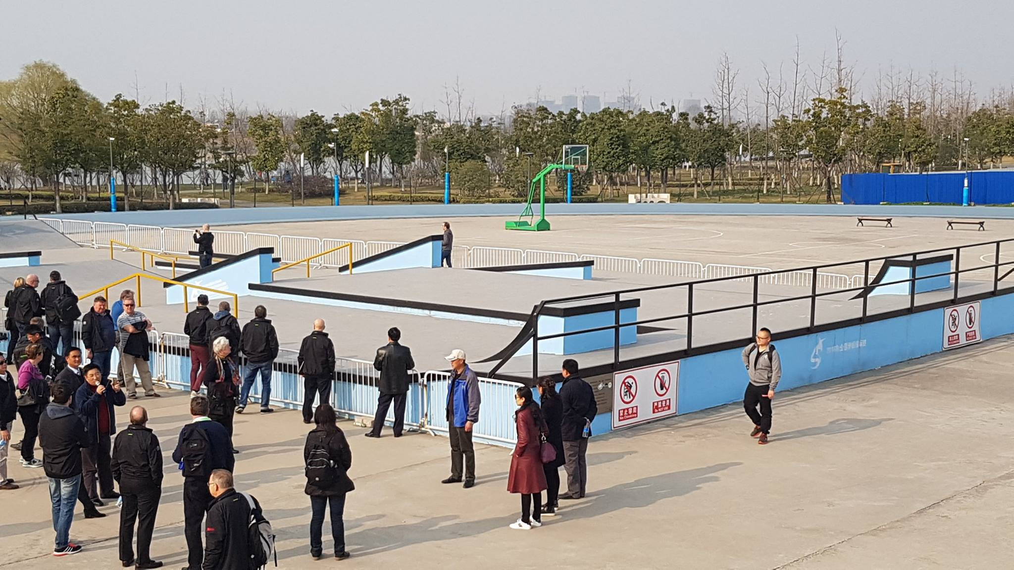 The competition venue is located close to the the SportsLab in the Chinese city, which hosted skateboarding events at the 2014 Youth Olympic Games ©Facebook