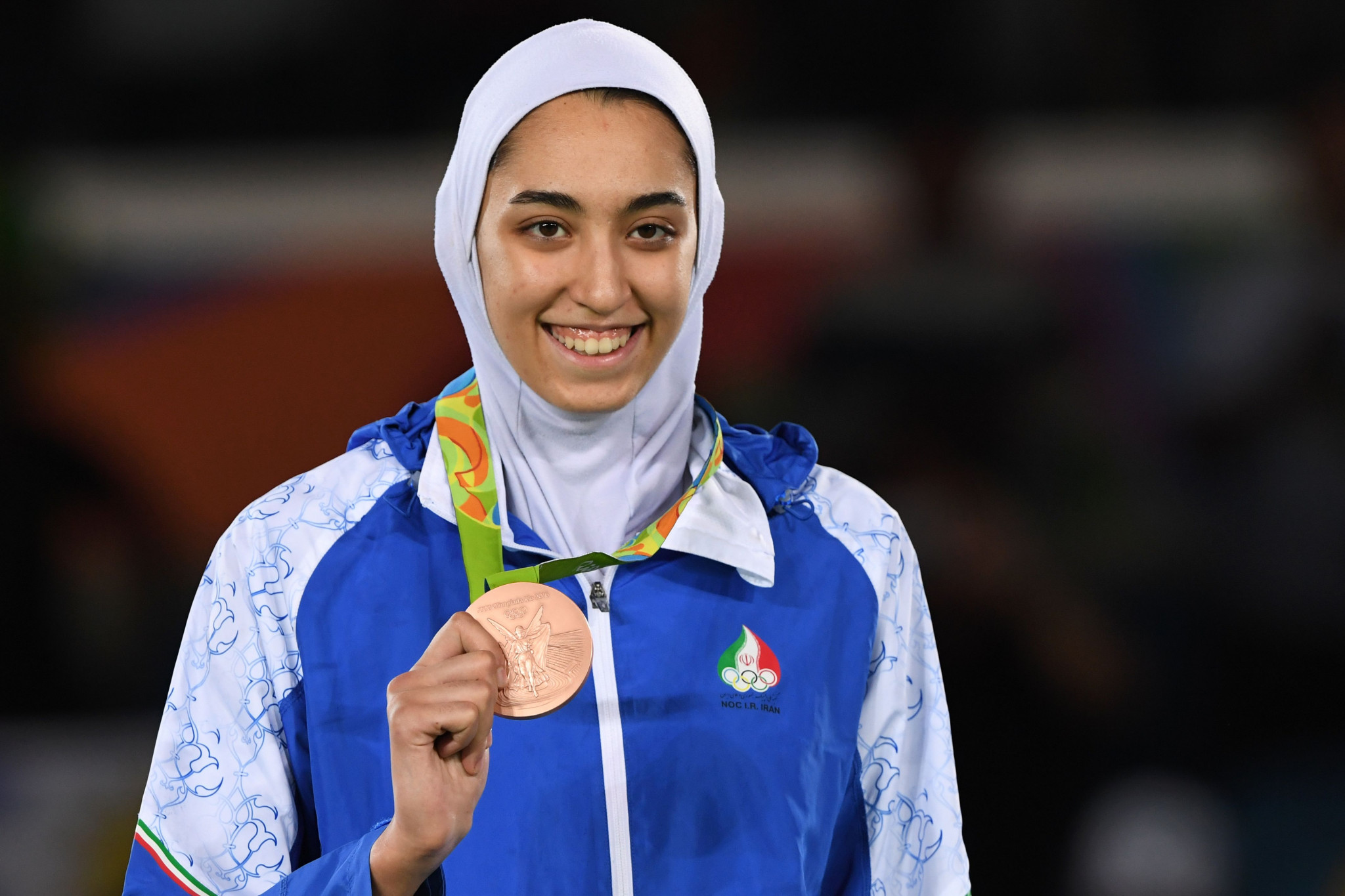 Olympic medallist Kimia Alizadeh is among the squad ©Getty Images
