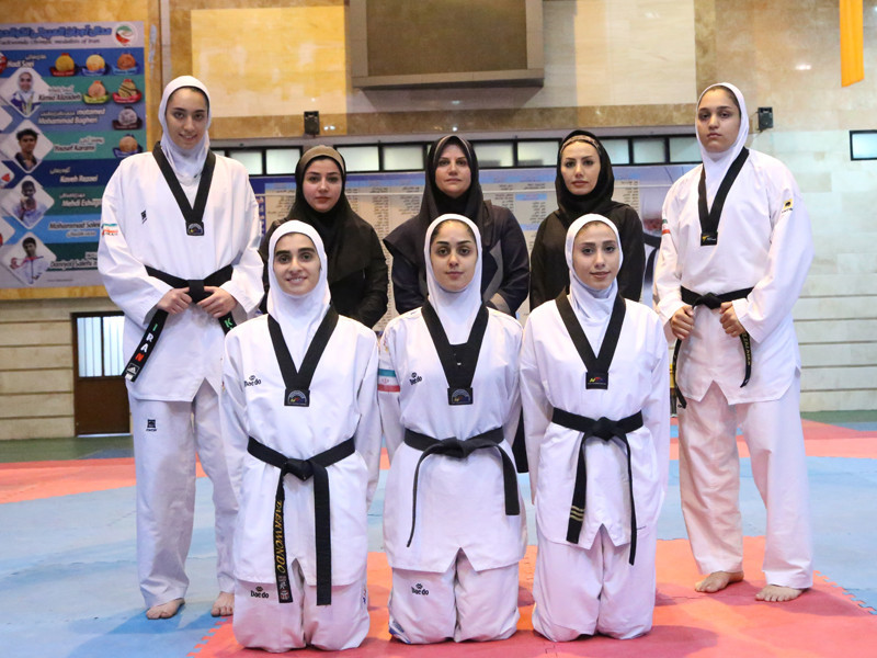 Iran have announced their women's taewkondo squad for this year's Asian Games in Indonesia ©IRITF