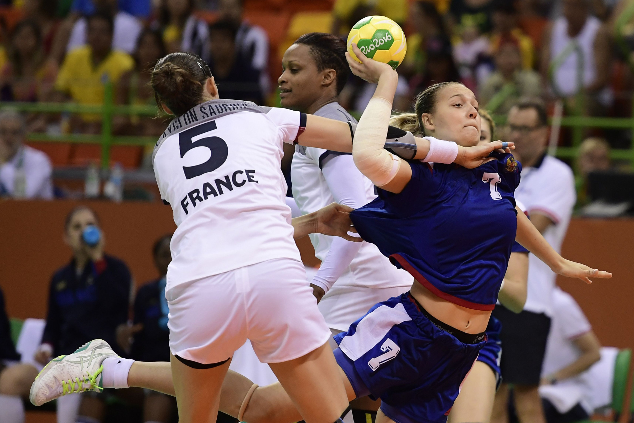 France and Russia will meet in the opening match of this year's European Women's Handball Championships ©Getty Images