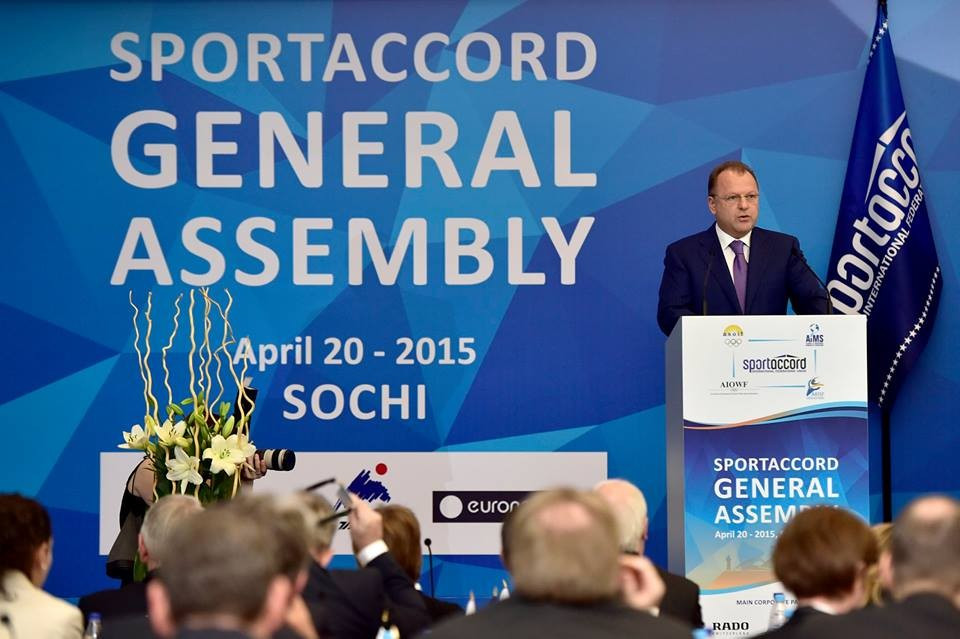 Marius Vizer's words to open the SportAccord General Assembly created ruptures in the Olympic Movement  ©SportAccord Convention