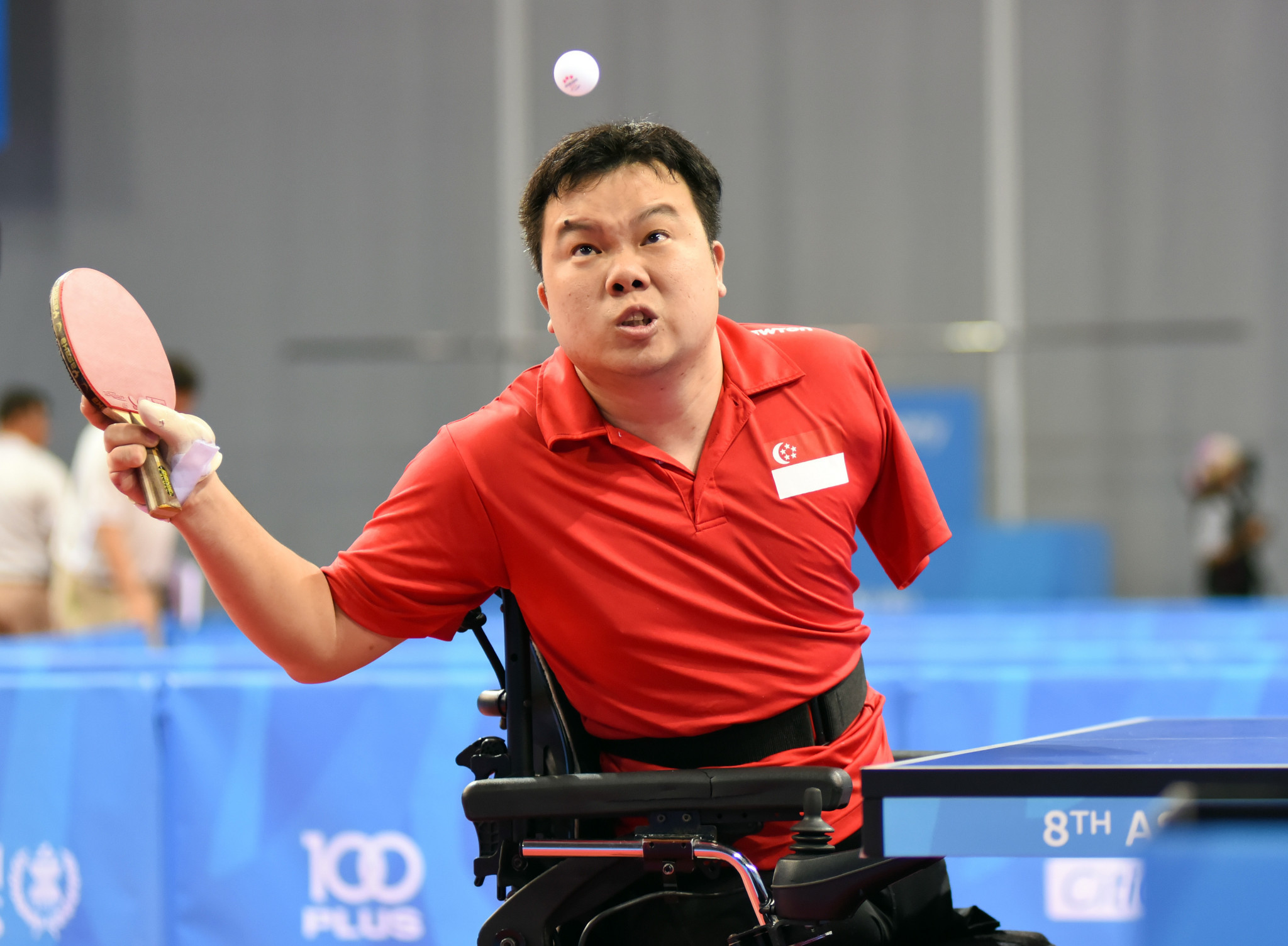 Table tennis is among the sports on the programme for the 2019 ASEAN Para Games in the Philippines ©Getty Images