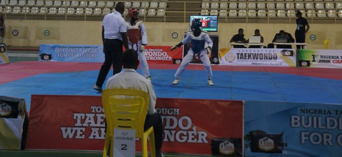 The camp is expected to run until the Nigerian taekwondo team departs for the African Youth Games ©NTF