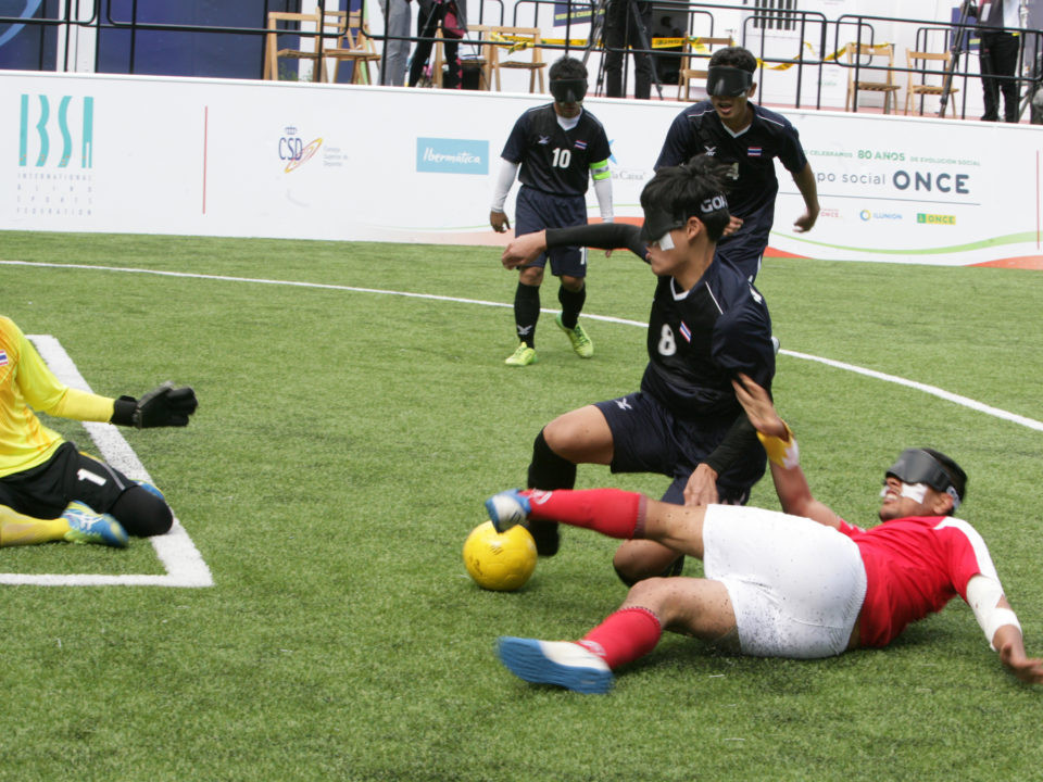 Morocco beat Thailand 3-0 to reach the quarter-finals ©IBSA