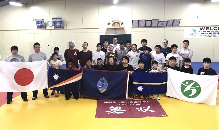 A trial camp took place in Fukuoka earlier this year ©ONOC