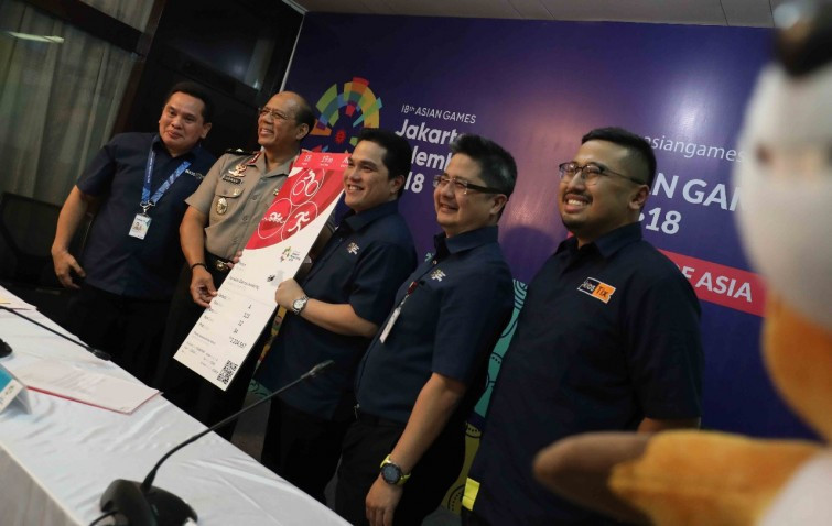 Tickets to go on sale for 2018 Asian Games at end of June