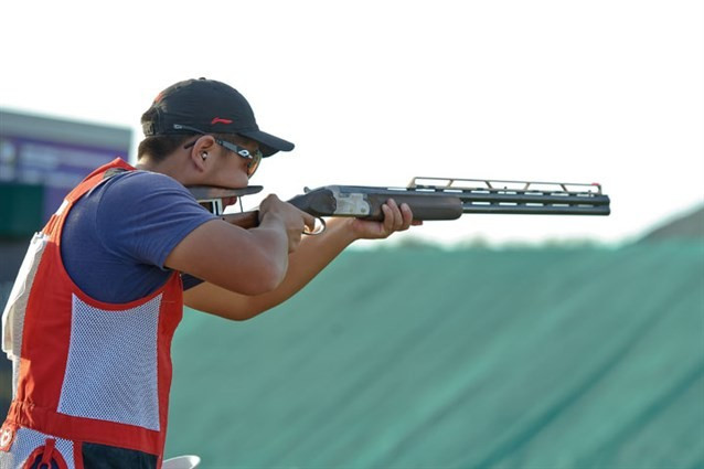China's Huang claims maiden medal with men's junior double trap gold at ISSF Shotgun World Championships