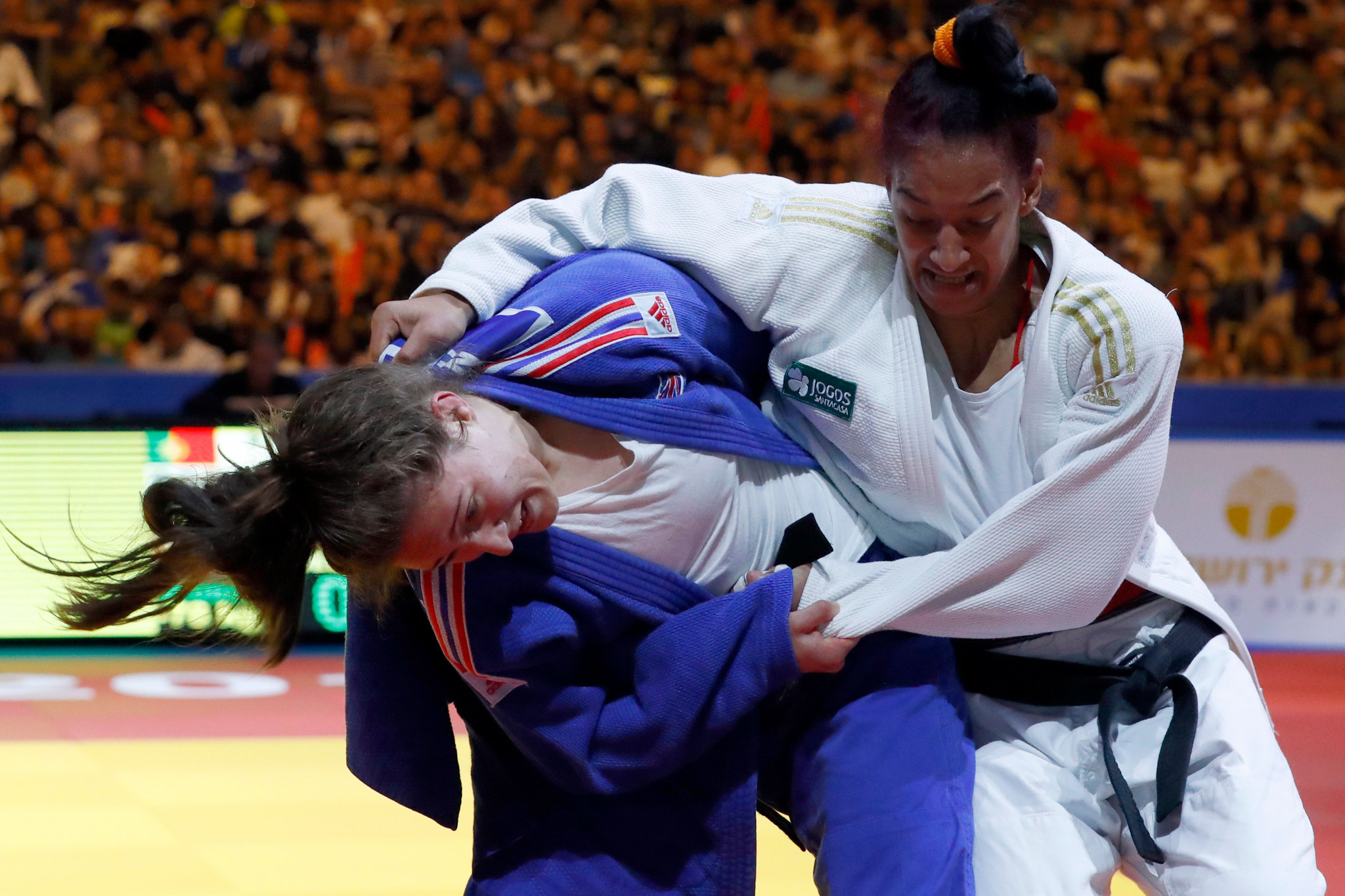 Many British judokas are gaining prominence on the international stage, including world bronze medallist Natalie Powell ©Getty Images