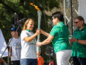 Thousands turn out for Lithuanian Olympic Committee Olympic Day celebrations