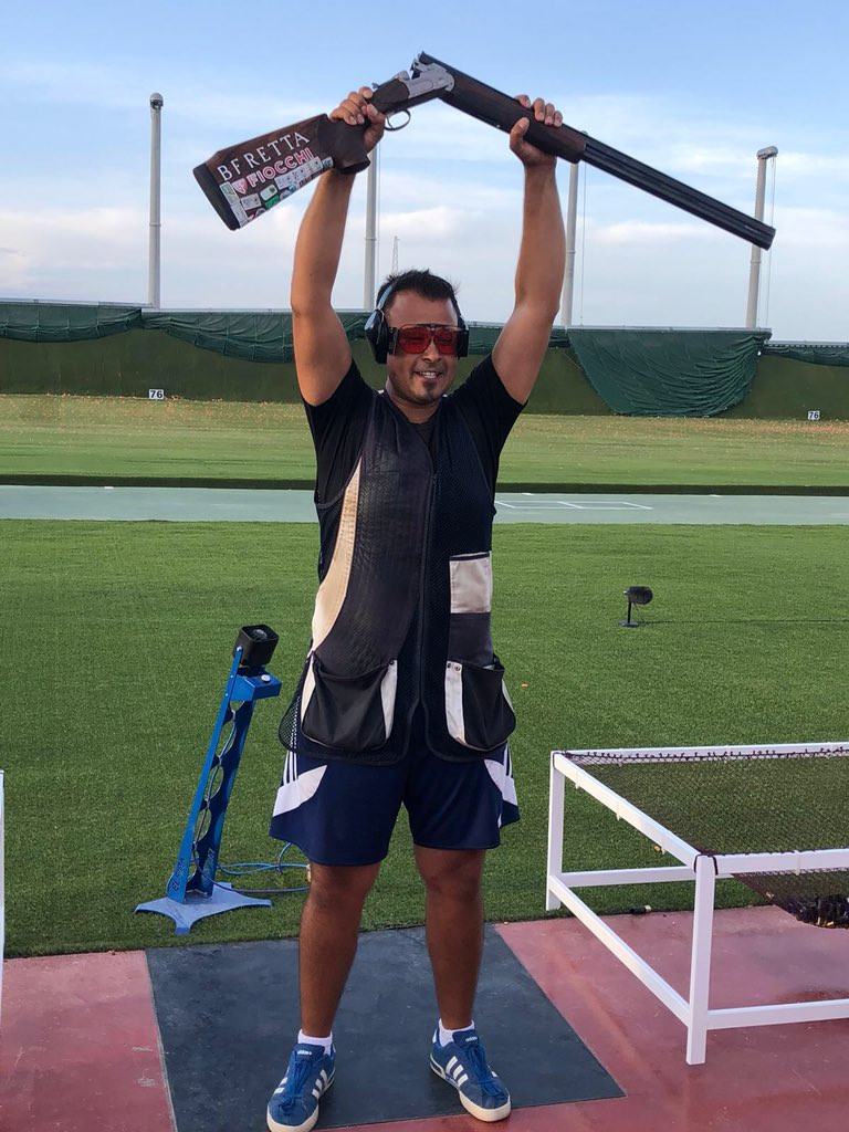 Britain's Heading wins men's trap gold at ISSF World Cup in Malta