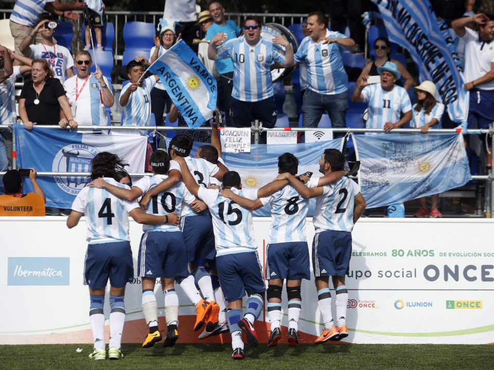 Argentina knock England out of Blind Football World Championship on penalties