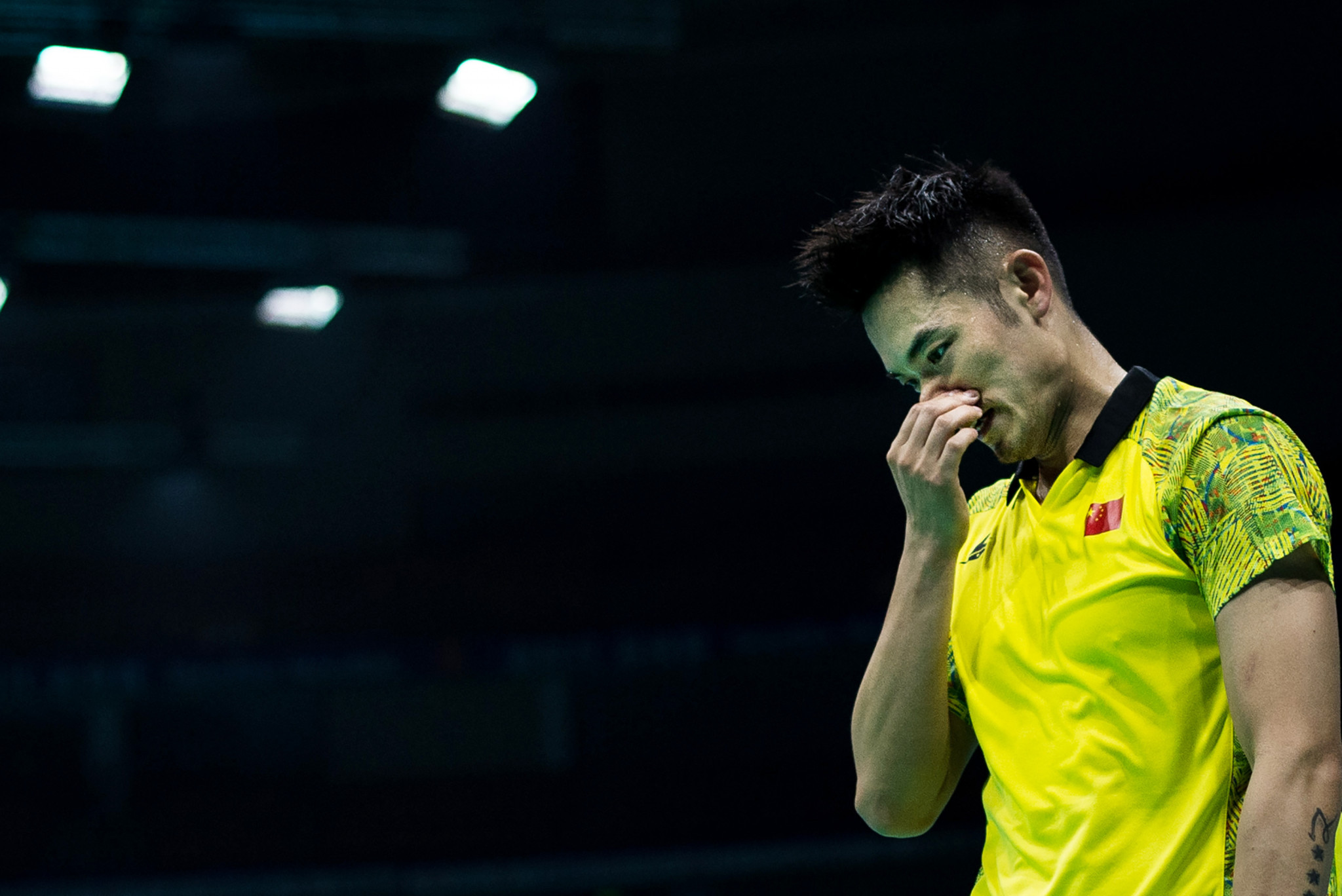 Lin Dan makes first round exit at U.S. Open Badminton Championships